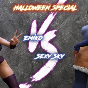 Emiko vs Sexy Sky (Affect3D Comics) thumbnail