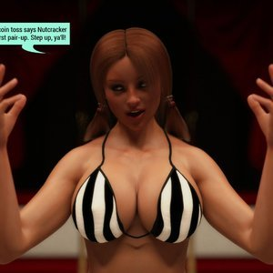 Affect3D Comics The F.U.T.A - Ingrid and Margaret vs Shaylah and Olivia gallery image-005