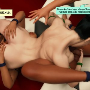 Affect3D Comics The F.U.T.A - Ingrid and Margaret vs Shaylah and Olivia gallery image-014