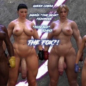 The F.U.T.A – Queen Cobra vs The Fox Affect3D Comics