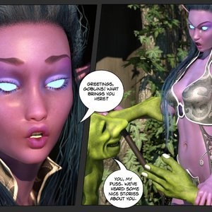 Affect3D Comics Tyrande in Trouble gallery image-003