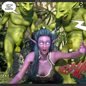 Affect3D Comics Tyrande in Trouble gallery image-006