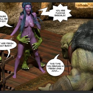 Affect3D Comics Tyrande in Trouble gallery image-031