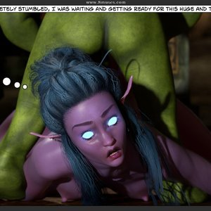 Affect3D Comics Tyrande in Trouble gallery image-046