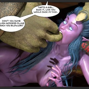 Affect3D Comics Tyrande in Trouble gallery image-059