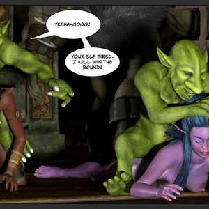 Affect3D Comics Tyrande in Trouble gallery image-070