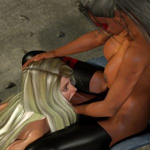 Affect3D Comics Ultragirl and Futa Panther 2 gallery image-006