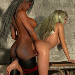 Affect3D Comics Ultragirl and Futa Panther 2 gallery image-010