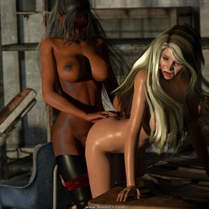Affect3D Comics Ultragirl and Futa Panther 2 gallery image-011