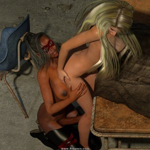 Affect3D Comics Ultragirl and Futa Panther 2 gallery image-014
