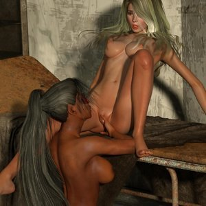 Affect3D Comics Ultragirl and Futa Panther 2 gallery image-023