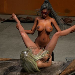 Affect3D Comics Ultragirl and Futa Panther 2 gallery image-032