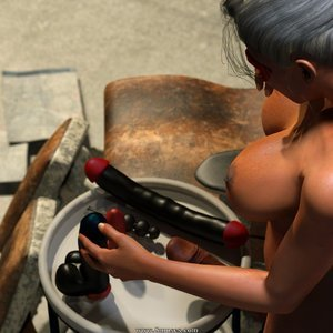 Affect3D Comics Ultragirl and Futa Panther 2 gallery image-038