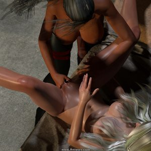 Affect3D Comics Ultragirl and Futa Panther 2 gallery image-044