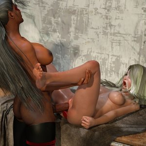 Affect3D Comics Ultragirl and Futa Panther 2 gallery image-045
