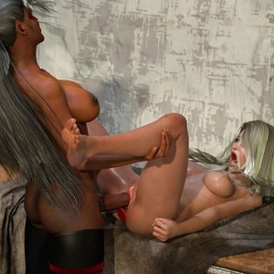 Affect3D Comics Ultragirl and Futa Panther 2 gallery image-046