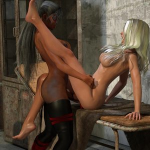Affect3D Comics Ultragirl and Futa Panther 2 gallery image-047