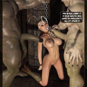 Tihanna Loves Orcs - Part.2 (Affect3D Comics) - Cartoon Porn Comics