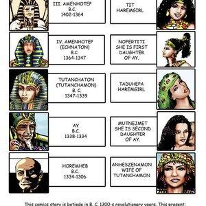 AllPornComics Comics Harem Of Pharaoh gallery image-002