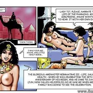 AllPornComics Comics Harem Of Pharaoh gallery image-003