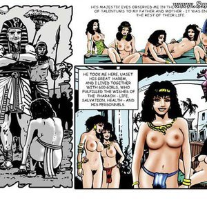 AllPornComics Comics Harem Of Pharaoh gallery image-004