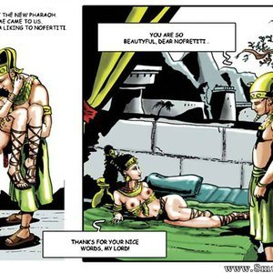 AllPornComics Comics Harem Of Pharaoh gallery image-014