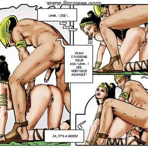 AllPornComics Comics Harem Of Pharaoh gallery image-016