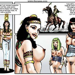 AllPornComics Comics Harem Of Pharaoh gallery image-019