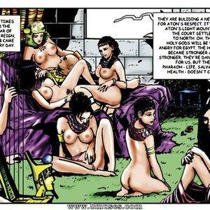 AllPornComics Comics Harem Of Pharaoh gallery image-027