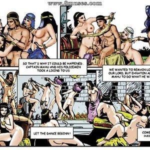 AllPornComics Comics Harem Of Pharaoh gallery image-033