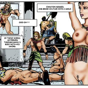 AllPornComics Comics Harem Of Pharaoh gallery image-040