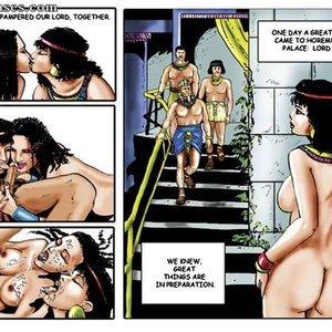 AllPornComics Comics Harem Of Pharaoh gallery image-048