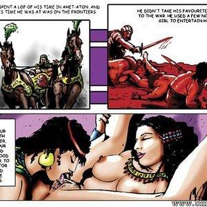 AllPornComics Comics Harem Of Pharaoh gallery image-074
