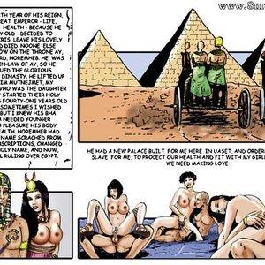 AllPornComics Comics Harem Of Pharaoh gallery image-085