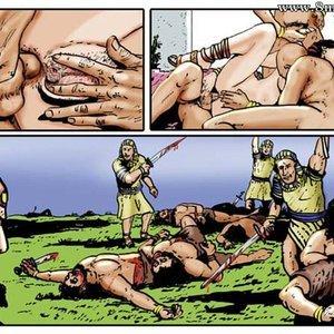 AllPornComics Comics Harem Of Pharaoh gallery image-088