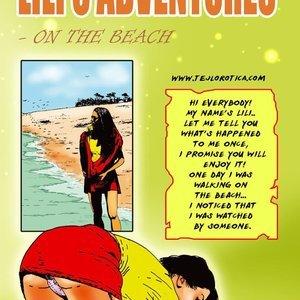 Lilis Adventures – On The Beach AllPornComics Comics