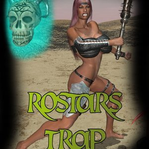 Rostars Trap Amazons and Monsters Comics
