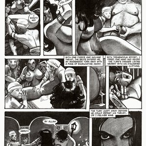 Amerotica Comics A Night In A Moorish Harem 2 gallery image-015