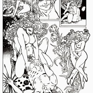 Amerotica Comics A Night In A Moorish Harem 2 gallery image-030