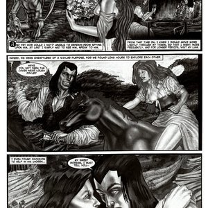 Amerotica Comics A Night In A Moorish Harem 2 gallery image-045