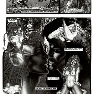 Amerotica Comics A Night In A Moorish Harem 2 gallery image-046