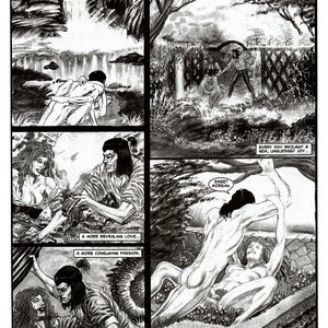 Amerotica Comics A Night In A Moorish Harem 2 gallery image-047
