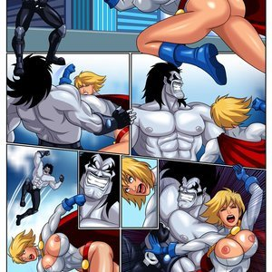 Horny Superheroines Arabatos Comics