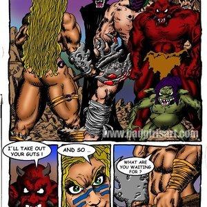 Bad Girls Art Comics Gamora The Warrior gallery image-002
