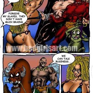 Bad Girls Art Comics Gamora The Warrior gallery image-003