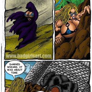 Bad Girls Art Comics Gamora The Warrior gallery image-006