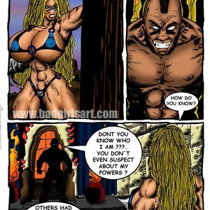 Bad Girls Art Comics Gamora The Warrior gallery image-007