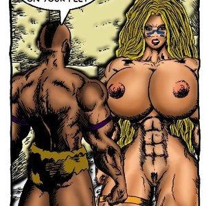 Bad Girls Art Comics Gamora The Warrior gallery image-013