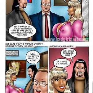 Bad Girls Art Comics Mimi Business Dinner gallery image-010
