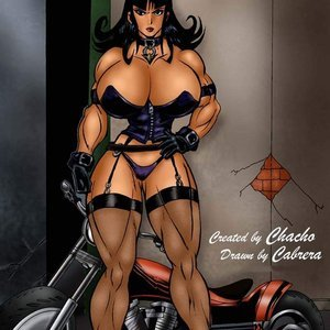My Motorbike Bad Girls Art Comics